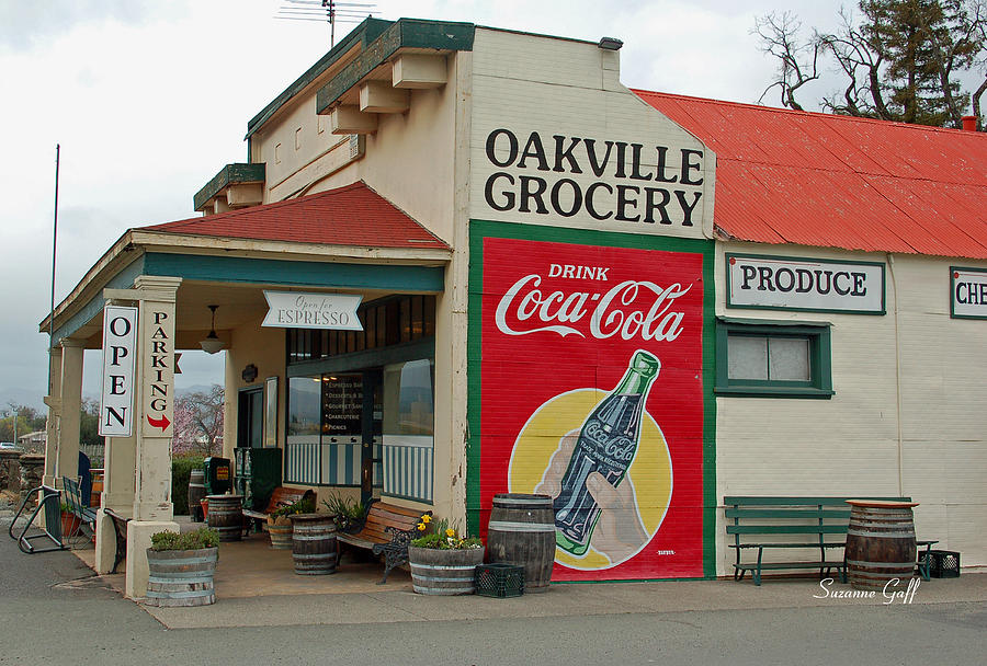 Oakville Grocery Photograph - The Oakville Grocery by Suzanne Gaff