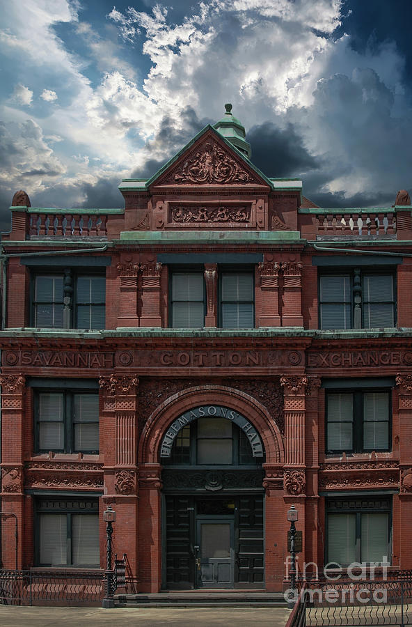 The Old 1886 Cotton Exchange Building Photograph