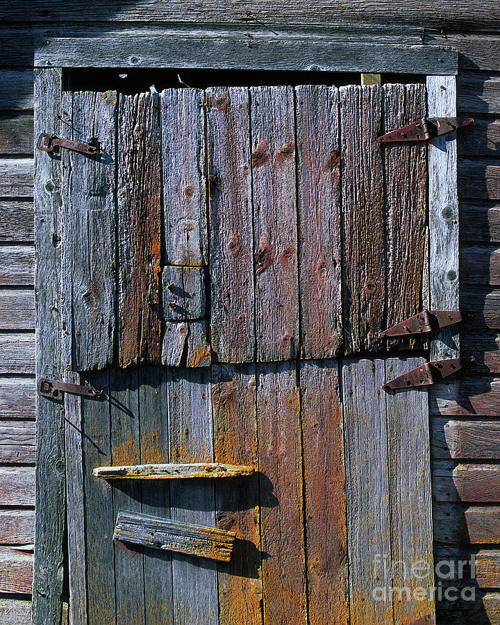 The Old Barn Door Photograph