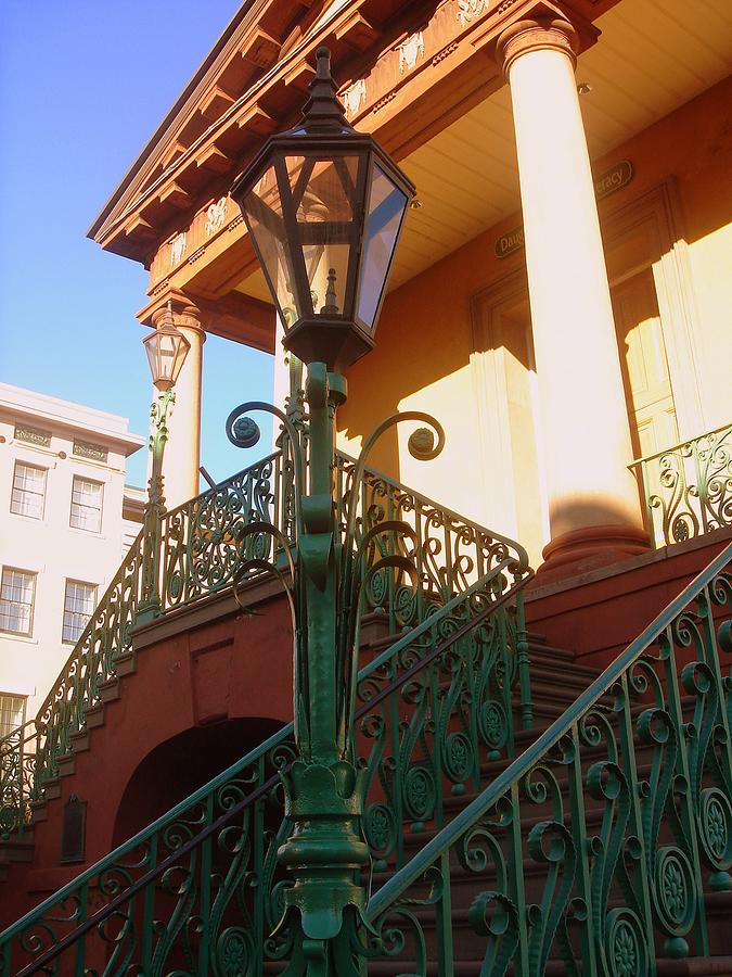 The Old City Market In Charleston Sc Photograph