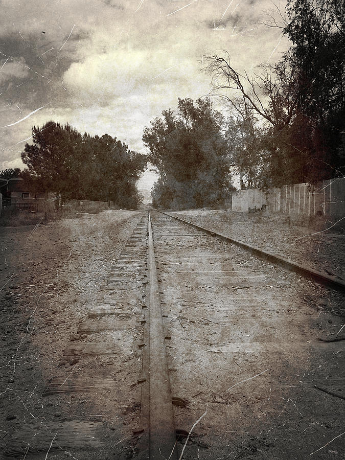 railroad Tracks Photograph - The Old Railroad Tracks by Glenn McCarthy Art and Photography
