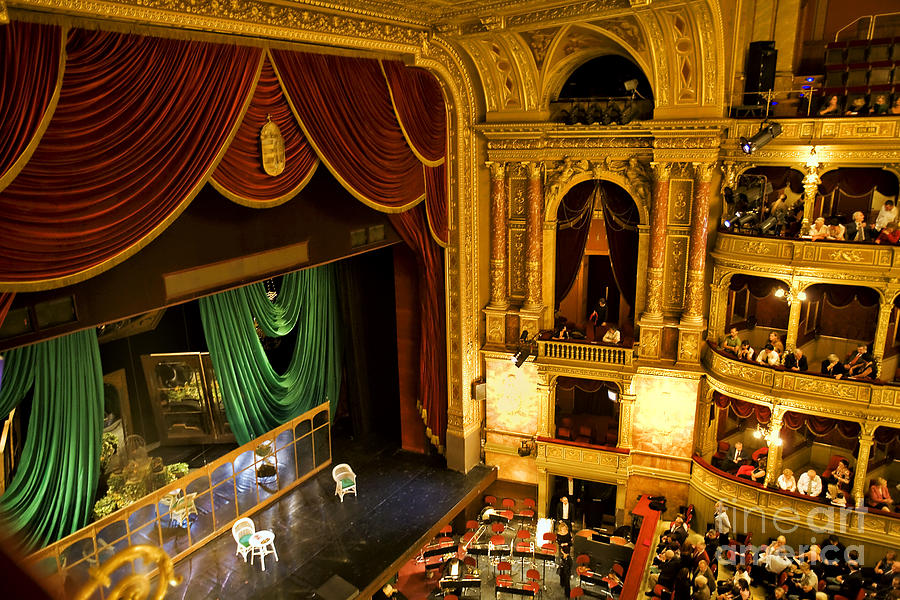 The Opera House Of Budapest Photograph