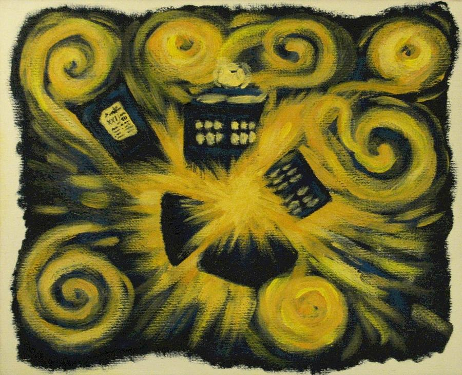 Doctor Painting - The Pandorica Opens by Lauren Cawthron