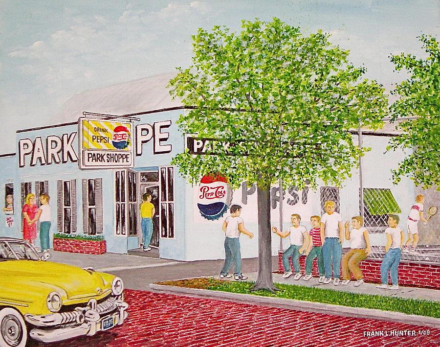 The Park Shoppe Painting