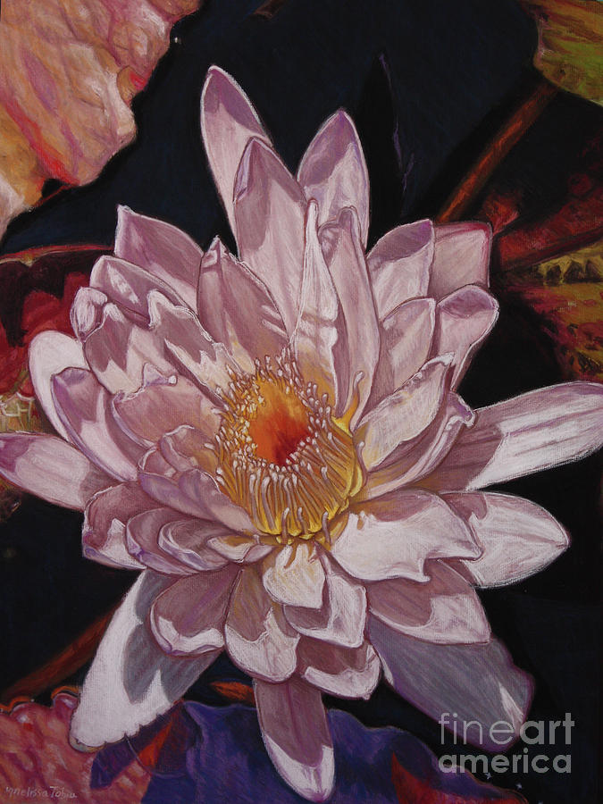 Botanical Painting - The Perfect Lily by Melissa Tobia