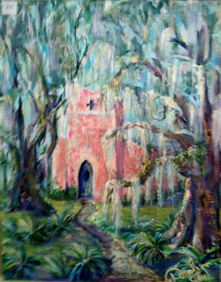 The Pink Chapel Painting