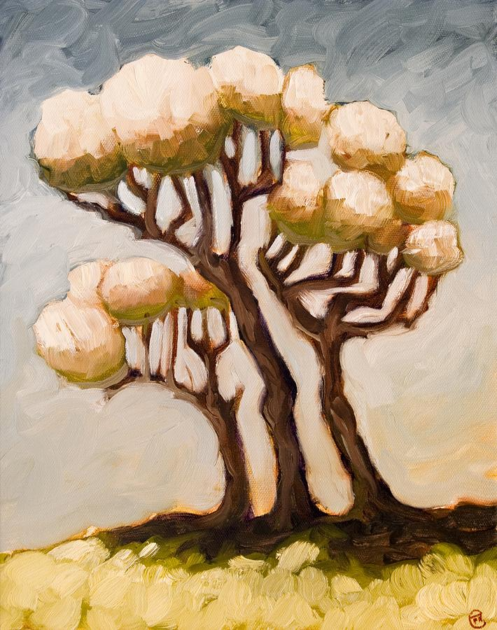 Trees Painting - The Pipe Organ by Ethan Harris