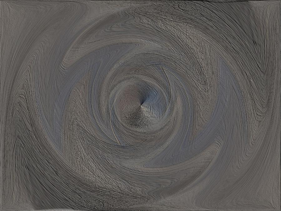 Abstract Digital Art - The Point Within by Tim Allen