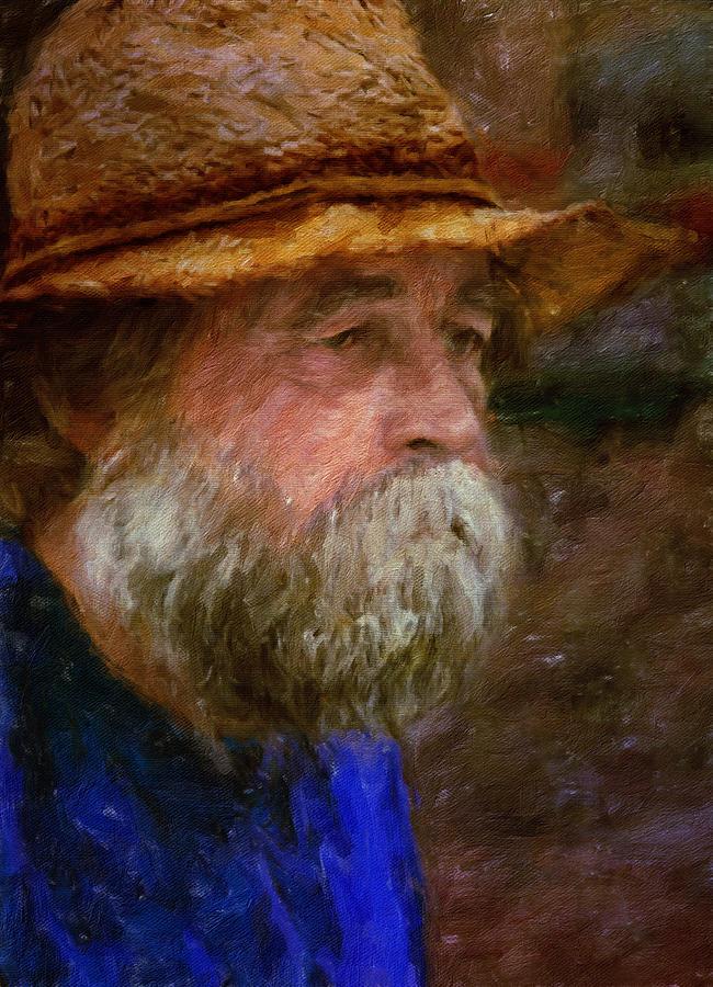 The Portrait Of A Man Digital Art