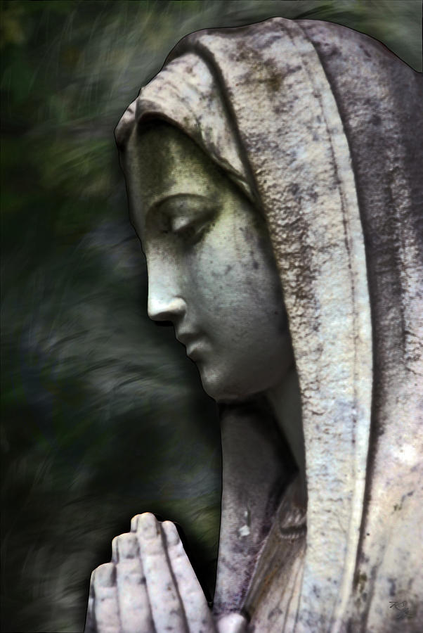Mother Mary Photograph - The Prayer by Kelly Rader