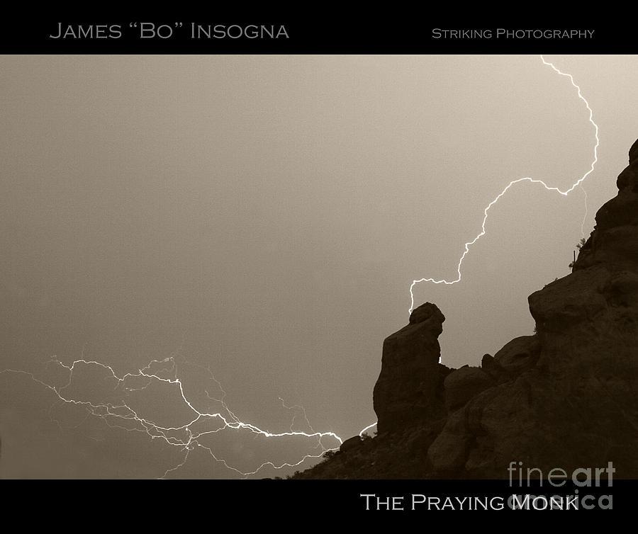 The Praying Monk Camelback Mountain Photograph
