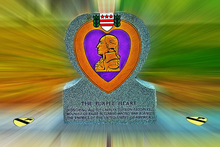 Purple Heart Photograph - the Purple Heart by Francisco Colon