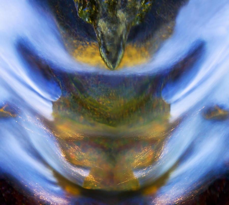 Water Digital Art - The Rage Within by Basie Van Zyl