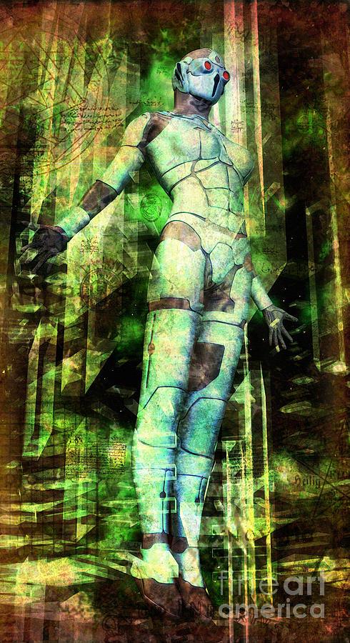 Temple Digital Art - The Revelations Of Glaaki by Luca Oleastri