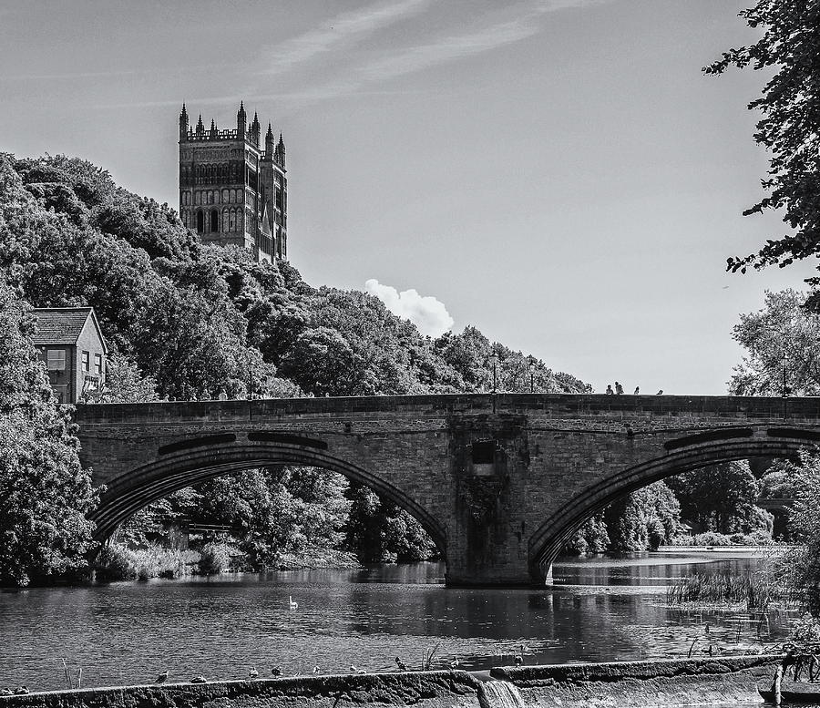 The River Wear At Durham Photograph