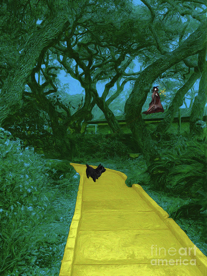 The Road To Oz Painting - The Road To Oz by Methune Hively