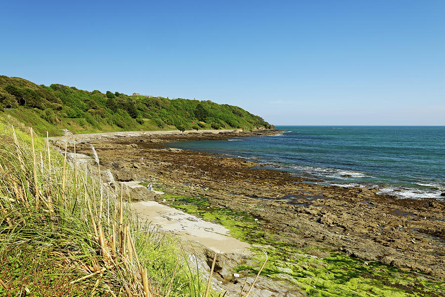 The Rugged Castle Beach - Falmouth Photograph