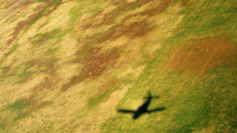 Landscape/arial Photograph - The Shadows Are Following Us by Jennifer  Lane