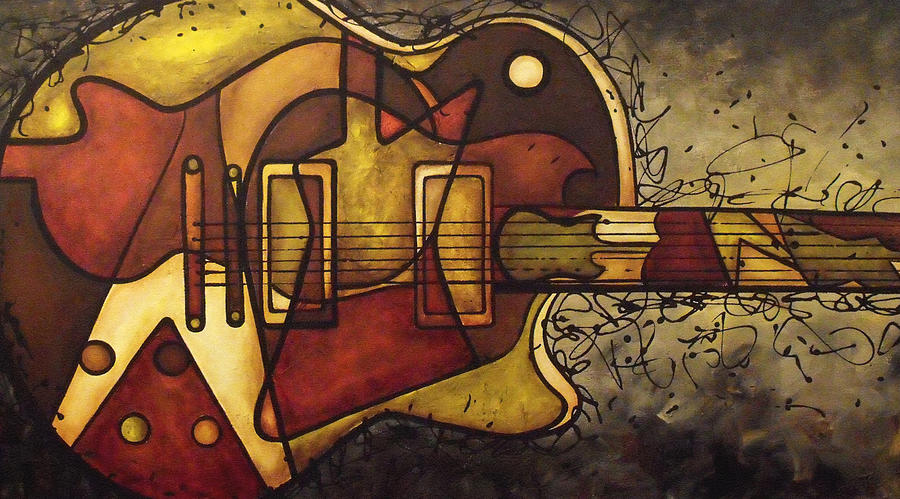 Gibson Painting - The Shape That Defines Us by Darlene Keeffe