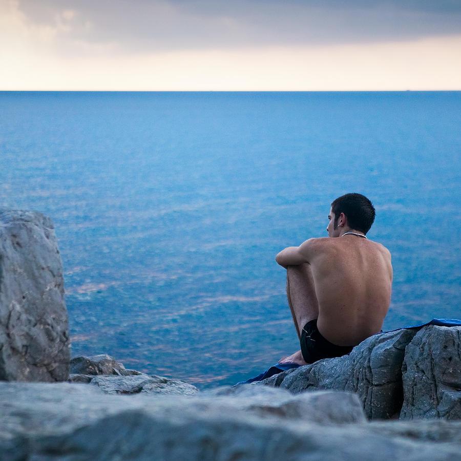 Sicily Photograph - The Sicilian by Neil Buchan-Grant
