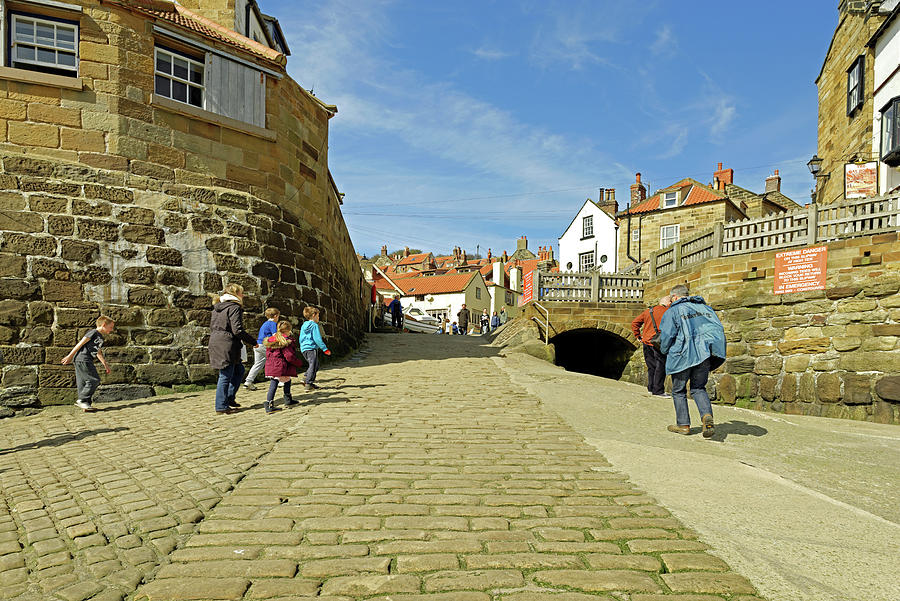 The Slipway - Robin Hoods Bay Photograph