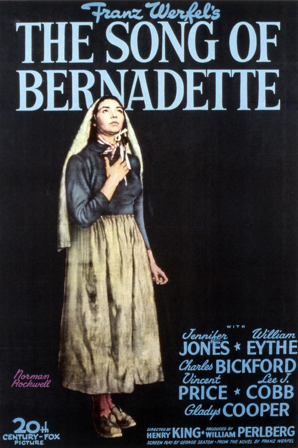 The Song Of Bernadette, Jennifer Jones Photograph