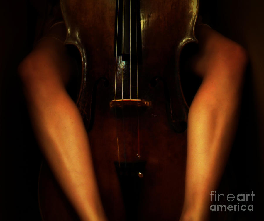 Beautiful Women Photograph - The Sound Of Eroticism   by Steven  Digman