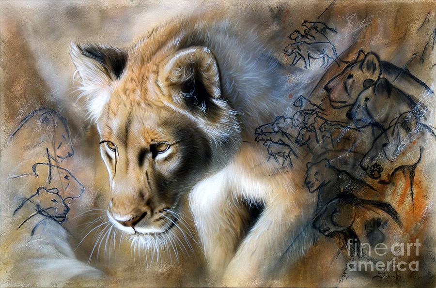 Sandi Baker Painting - The Source by Sandi Baker