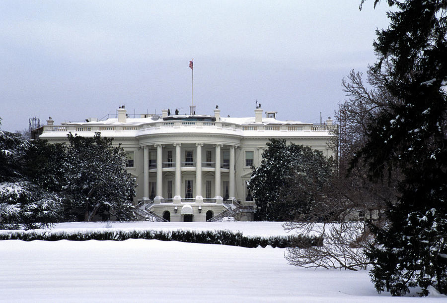 Washington Photograph - The South View Of The White House by Stacy Gold