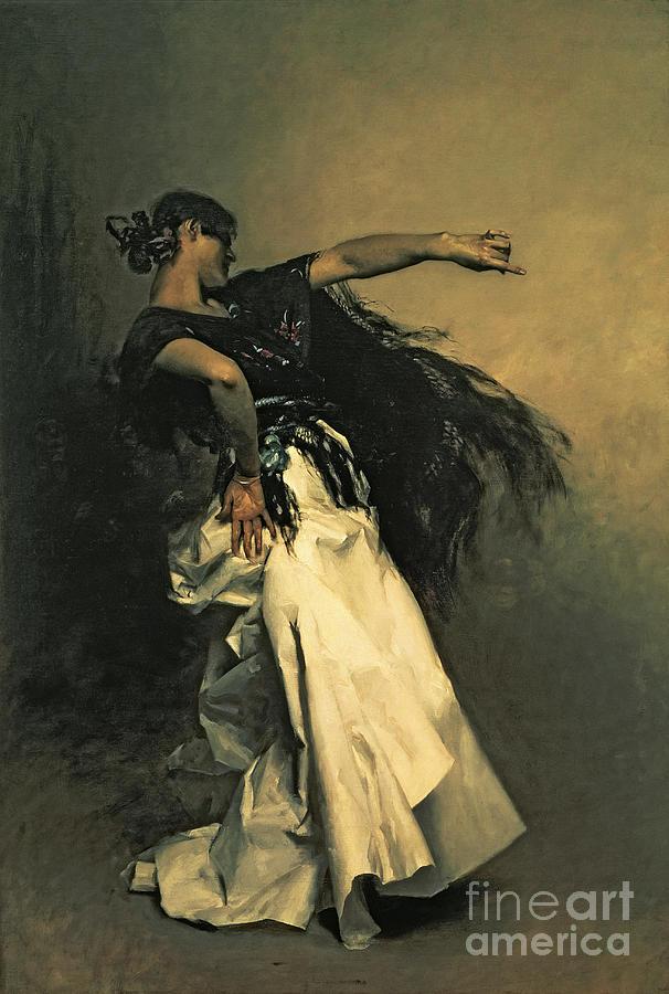 John Singer Sargent Painting - The Spanish Dancer by John Singer Sargent