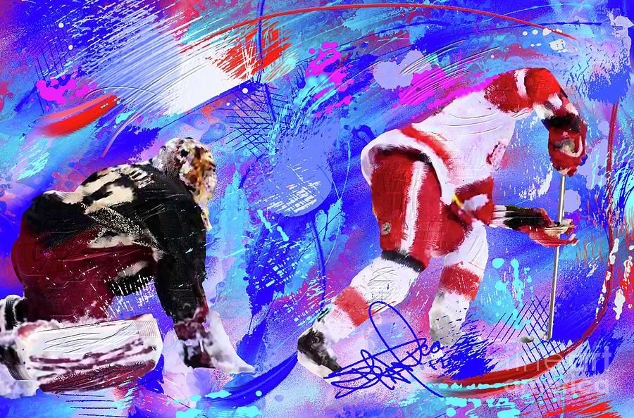The Spin Todd Bertuzzi Painting