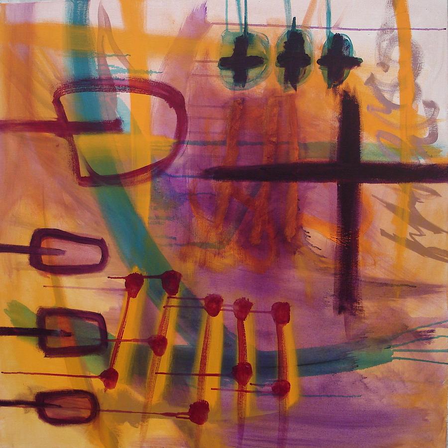 The Storyteller Painting