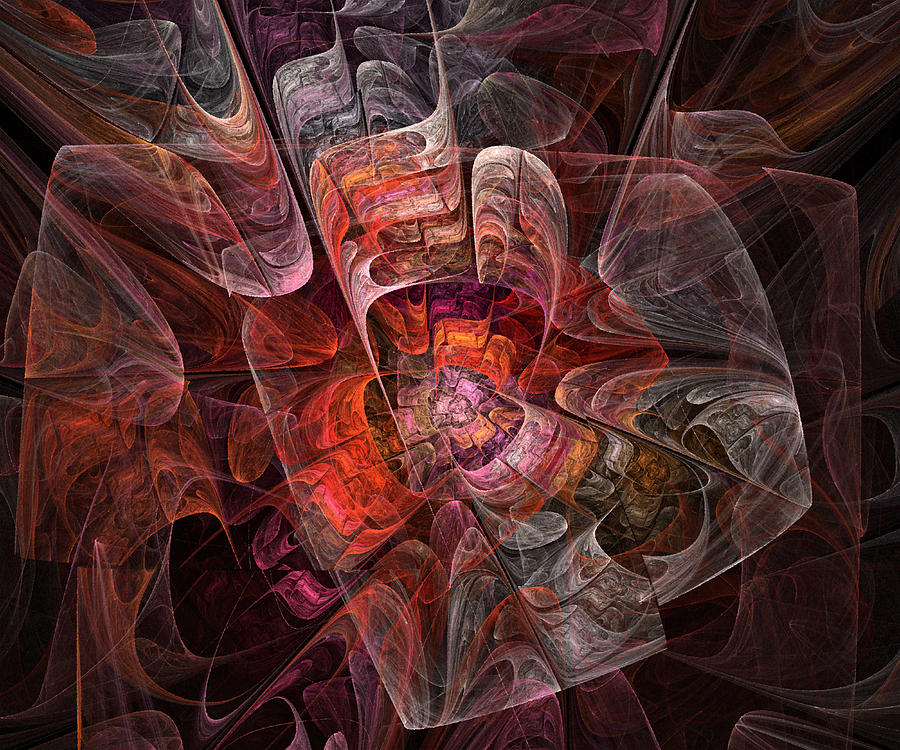 Abstract Digital Art - The Third Voice - Fractal Art by NirvanaBlues