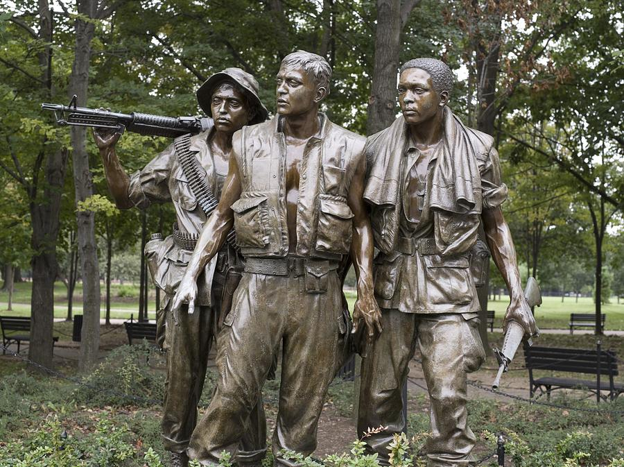 The Three Soldiers By Frederick Hart Photograph