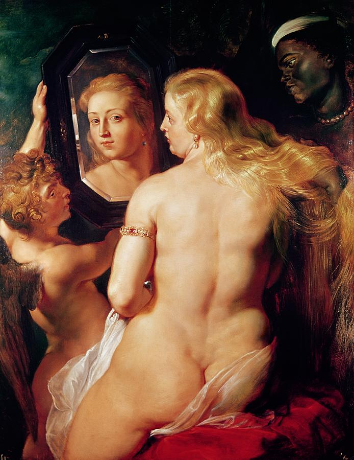 The Toilet Of Venus Painting