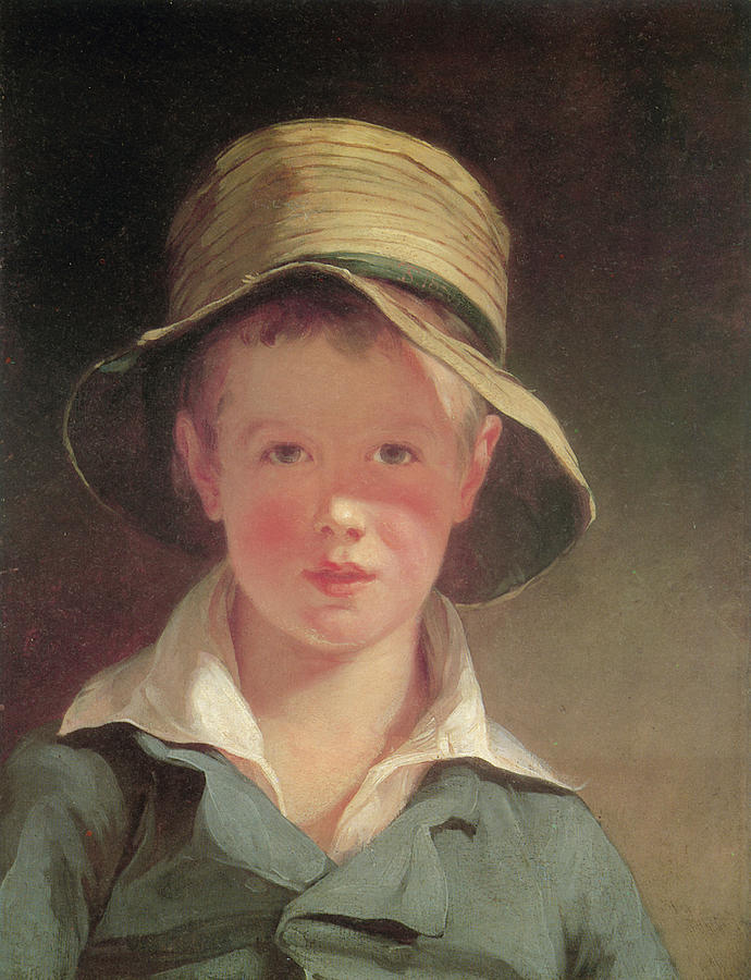 Thomas Sully Painting - The Torn Hat by Thomas Sully