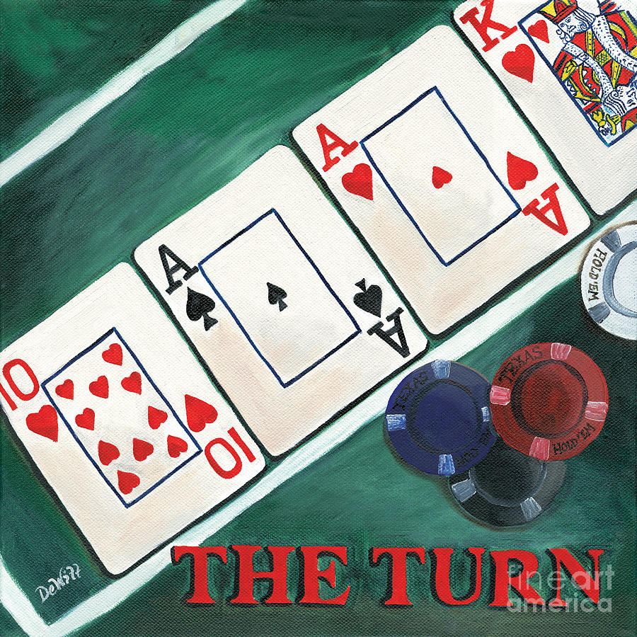 The Turn Painting - The Turn by Debbie DeWitt