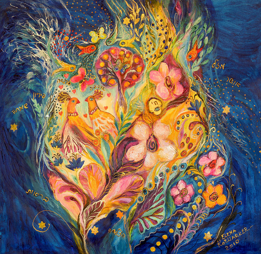 Original Painting - The Twilight Time by Elena Kotliarker