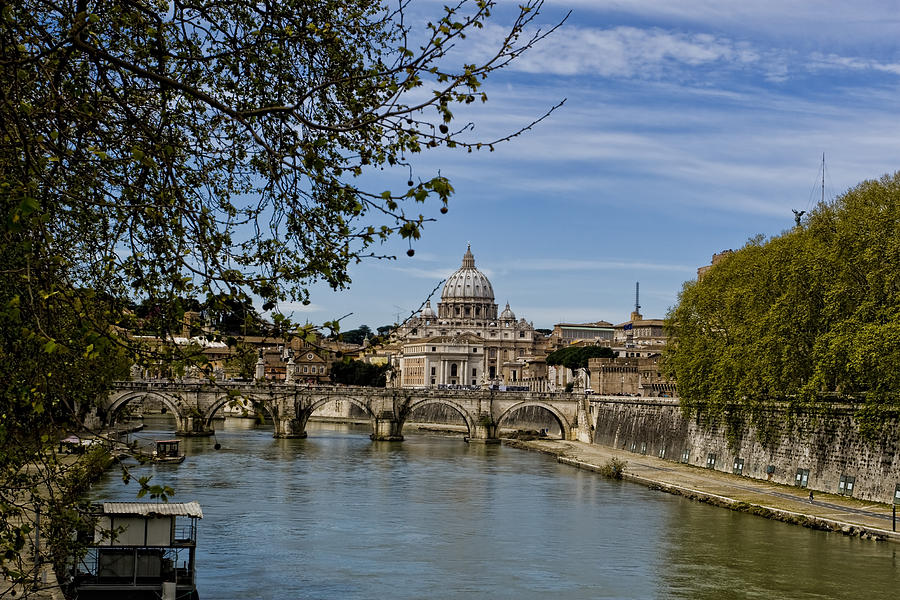The Vatican By Day Photograph