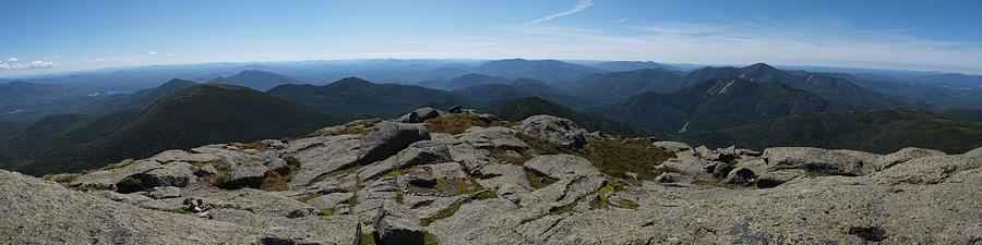 Adirondacks Photograph - The View North From Mt. Marcy by Joshua House