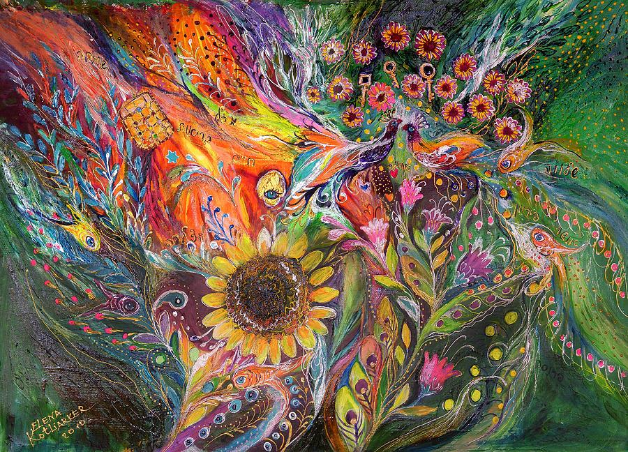 Original Painting - The Voice Of Spring by Elena Kotliarker