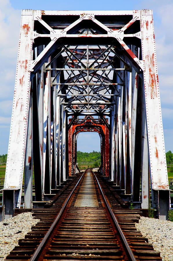 Train Tressels Photograph - The Way Is Clear by Karen Wiles