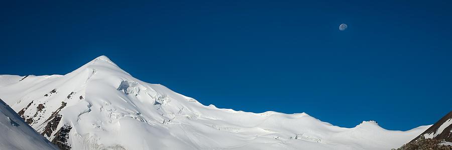 Beautiful Photograph - The White Summit by Konstantin Dikovsky