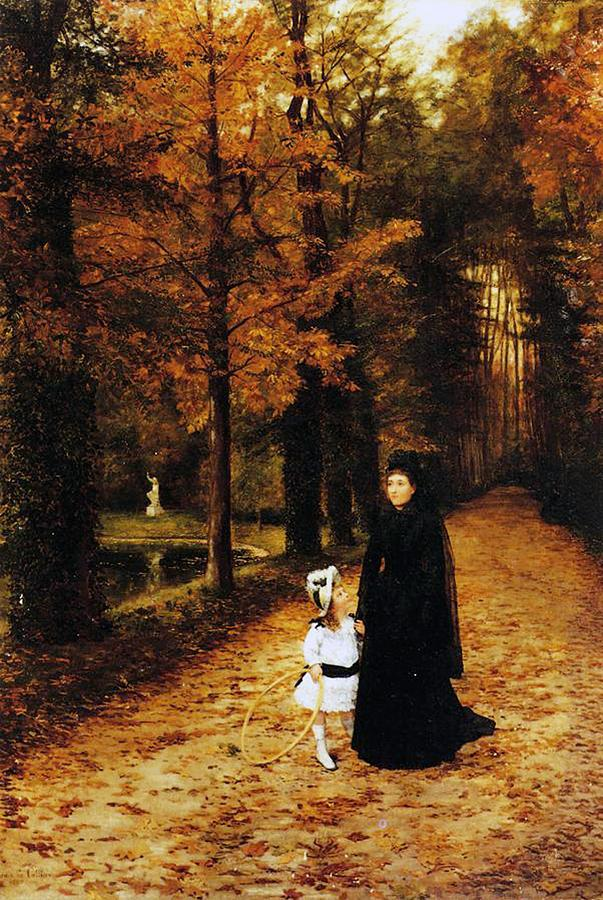 The Widow's Walk Painting - The Widow by Horace de Callias