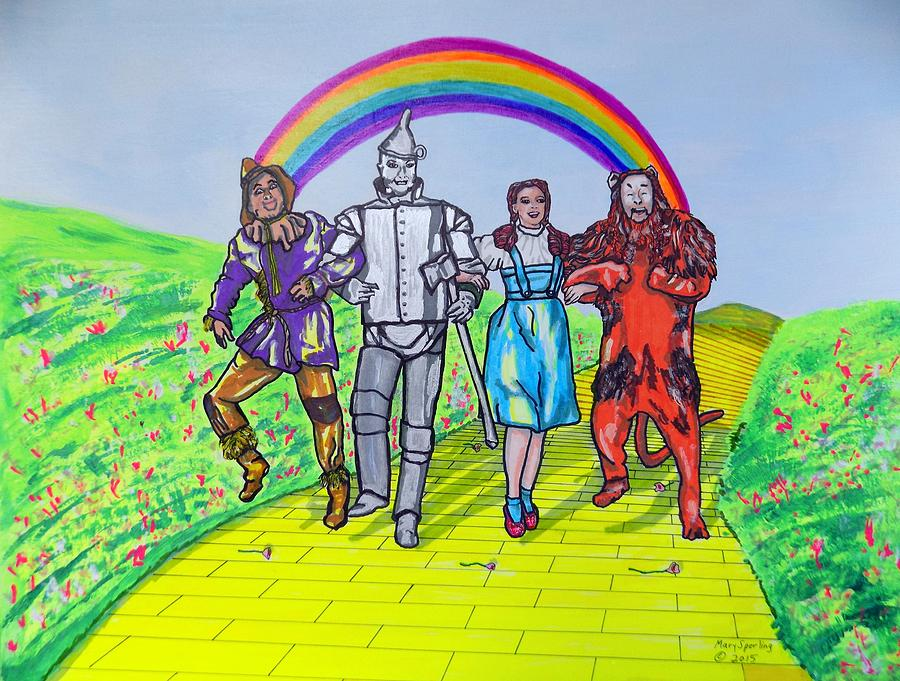 Wizard Of Oz Painting Canvas