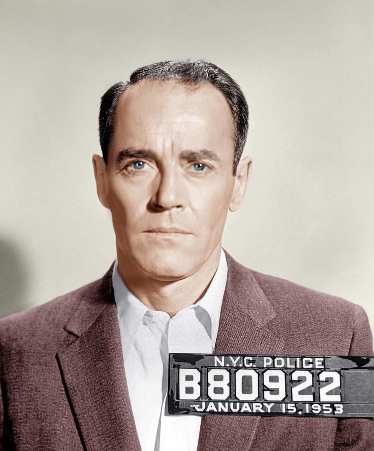 1950s Portraits Photograph - The Wrong Man, Henry Fonda, 1956 by Everett