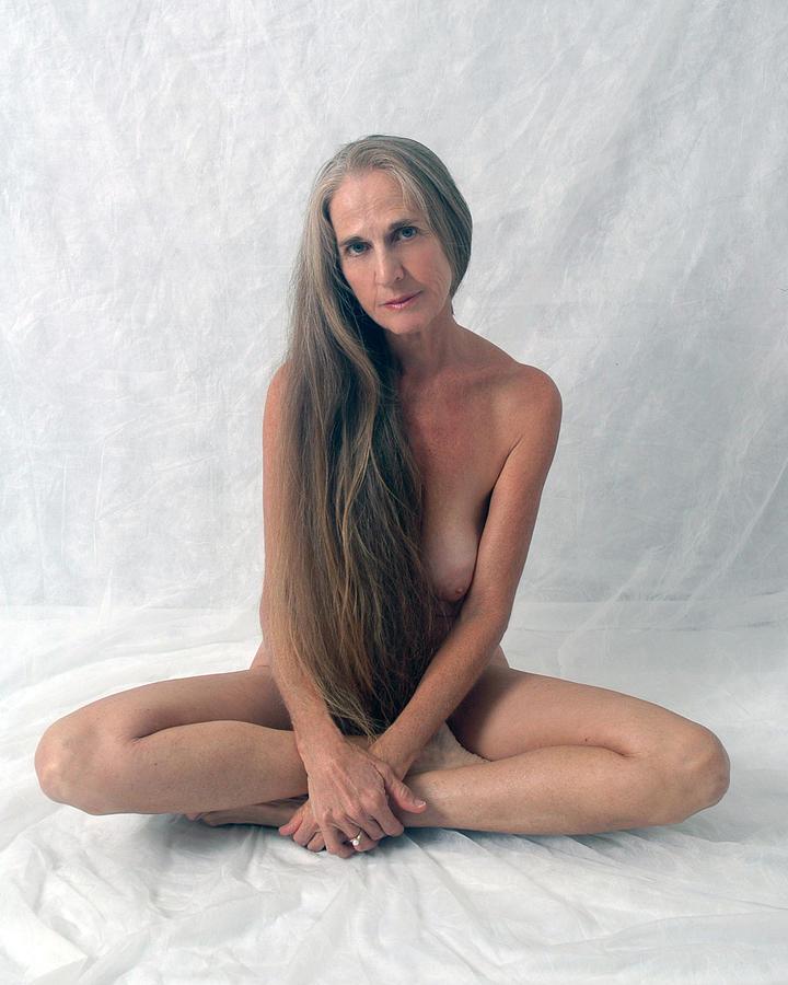 Girl Photograph - The Yogi by N Taylor