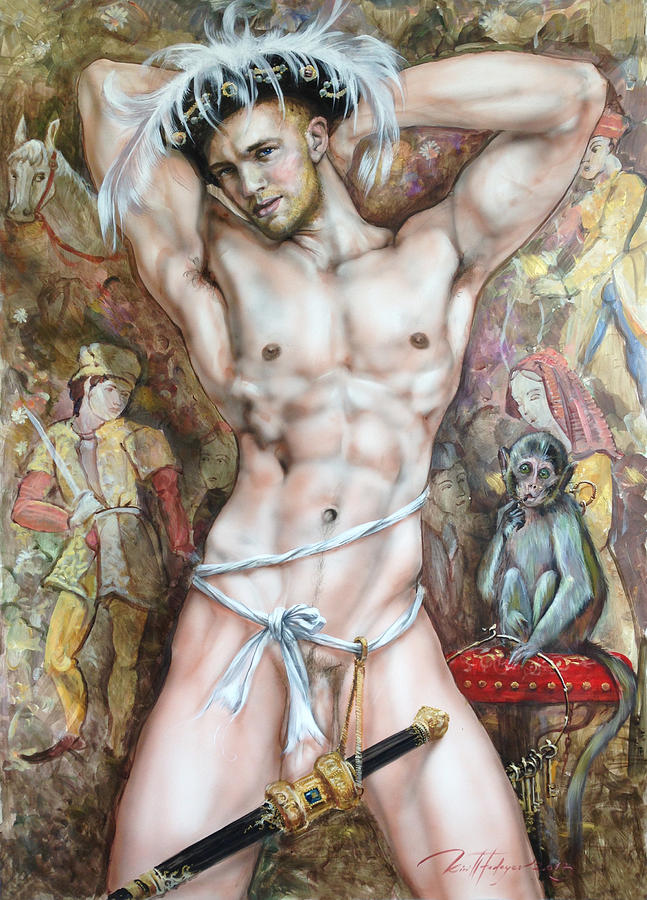 Love the art fine nude painting amazing tight