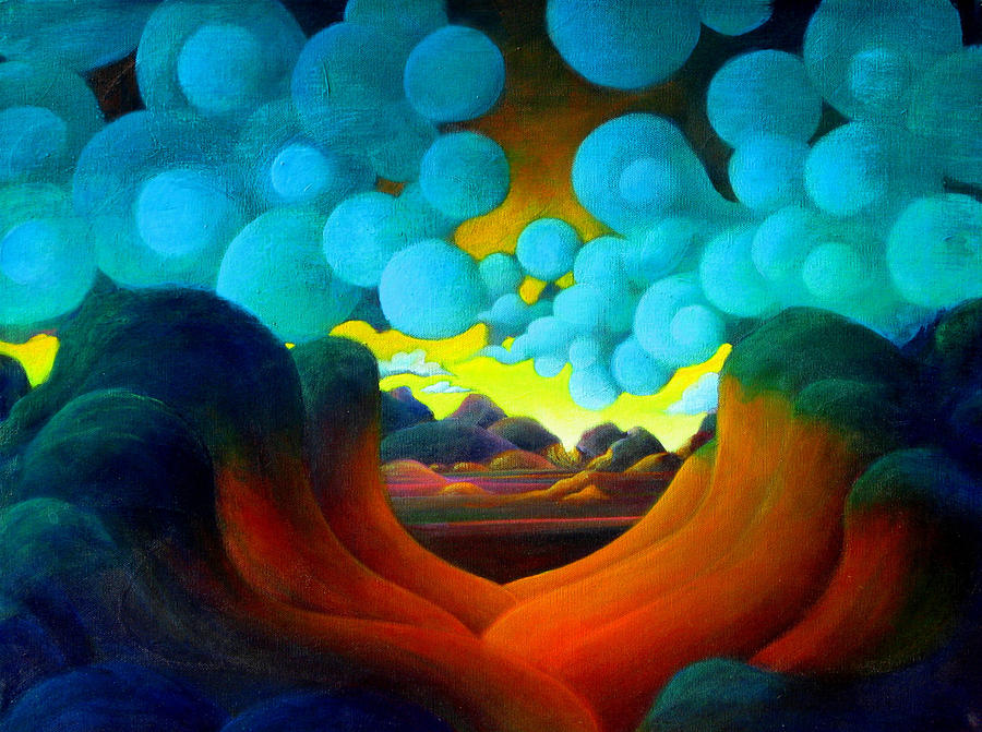 Magical Painting - There Was Magic In The Air by Richard Dennis