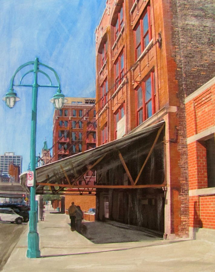 Third Ward - Broadway Awning Mixed Media